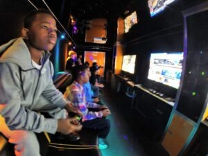 Los Angeles and Orange County California video game truck party