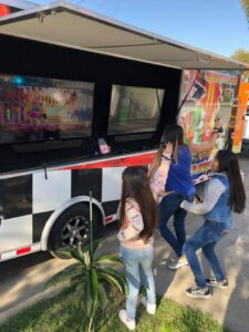 Video game truck birthday party in Orange County, Compton and Los Angeles, California