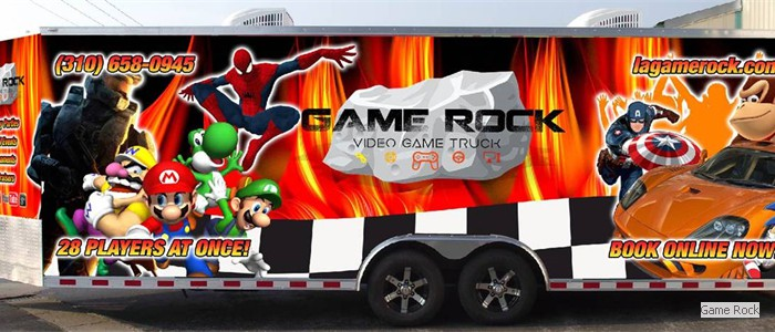Game Rock Video Game Truck!